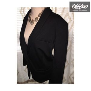 Mossimo Plus Size Black Blazer